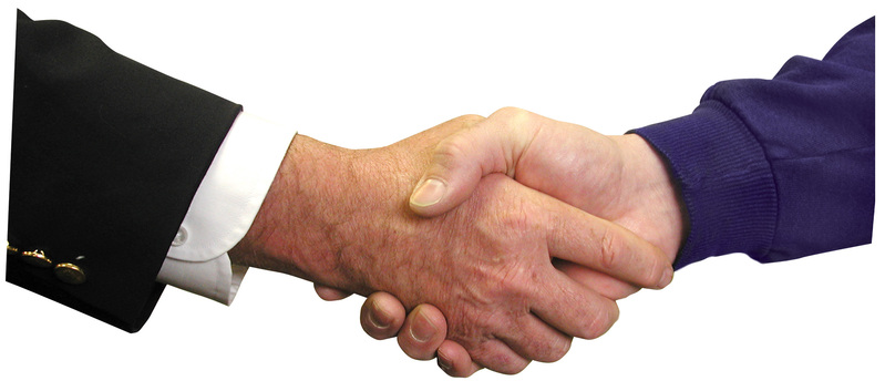 A Handshake Is Not Enough for Property Deals
